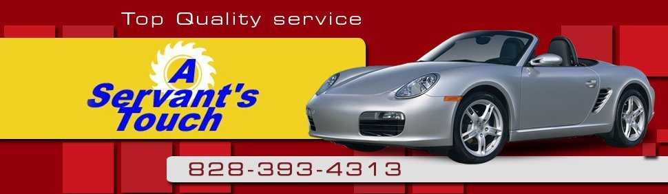 Car Wash Services - Hendersville, NC - A Servant's Touch