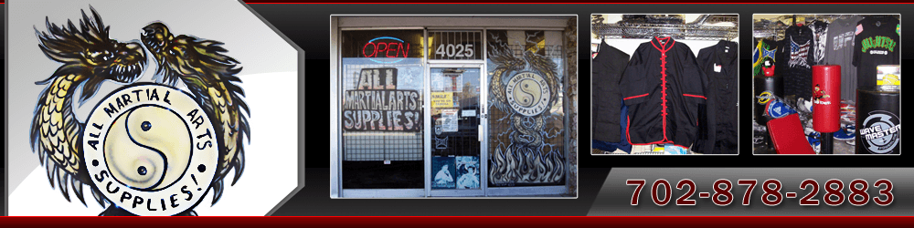 Martial Arts Equipment - Las Vegas, NV - All Martial Arts Supplies - Header