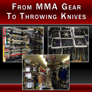 Martial Arts Equipment - Las Vegas, NV - All Martial Arts Supplies - Martial Arts Weapon - From MMA Gear To Throwing Knives