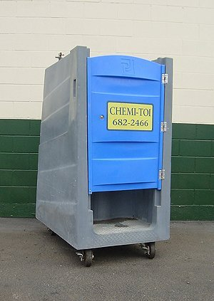Chemi-Toi's Portable Toilet Equipment Gallery-halfsize unit