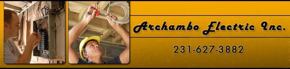 Electric Service - Cheboygan, MI - Archambo Electric Inc.
