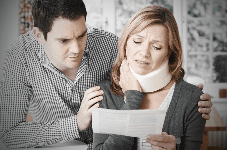 Women's neck injury