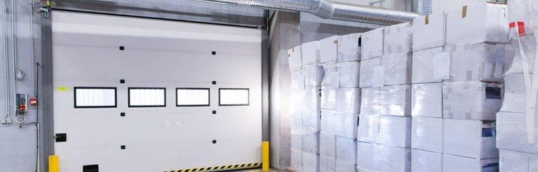 freight door & Industrial Doors   Vinyl Service Doors   Omaha NE