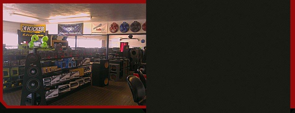 Auto accessories at Driver's Edge Car Audio