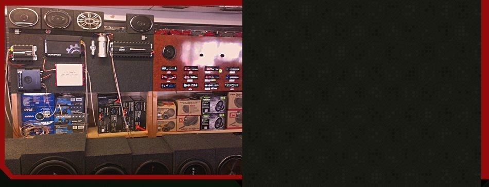 Auto alarm installation at Driver's Edge Car Audio