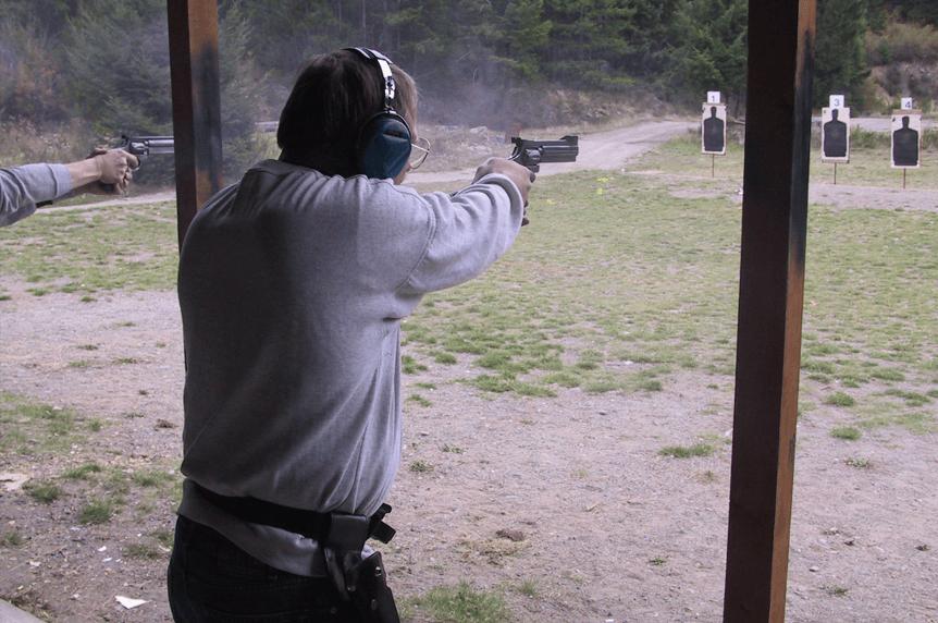 Firearm shooter