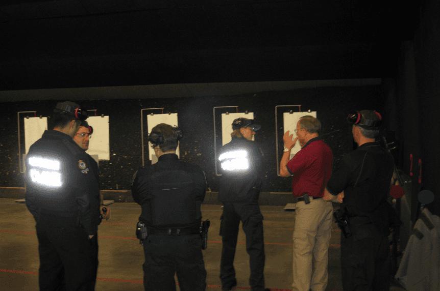 Police firearm training
