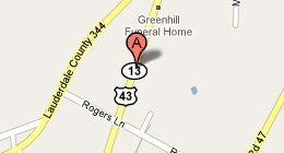 Greenhill Florist & Gift Shop - 8410 Hwy. 43 Florence, AL 35634