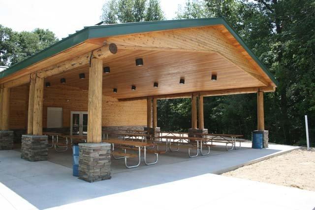 Lodge pavilion