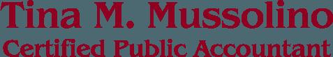 Tina M. Mussolino CPA - Logo