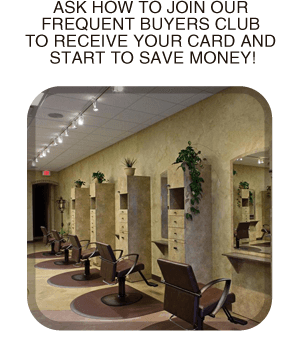 Hairstyling - Woodbury, MN - HAIRitage 'Hous - Chairs - Ask how to join our frequent buyers club to receive your card and start to save money!