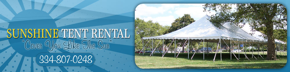 Tables and Chairs - Troy, AL - Sunshine Tent Rental