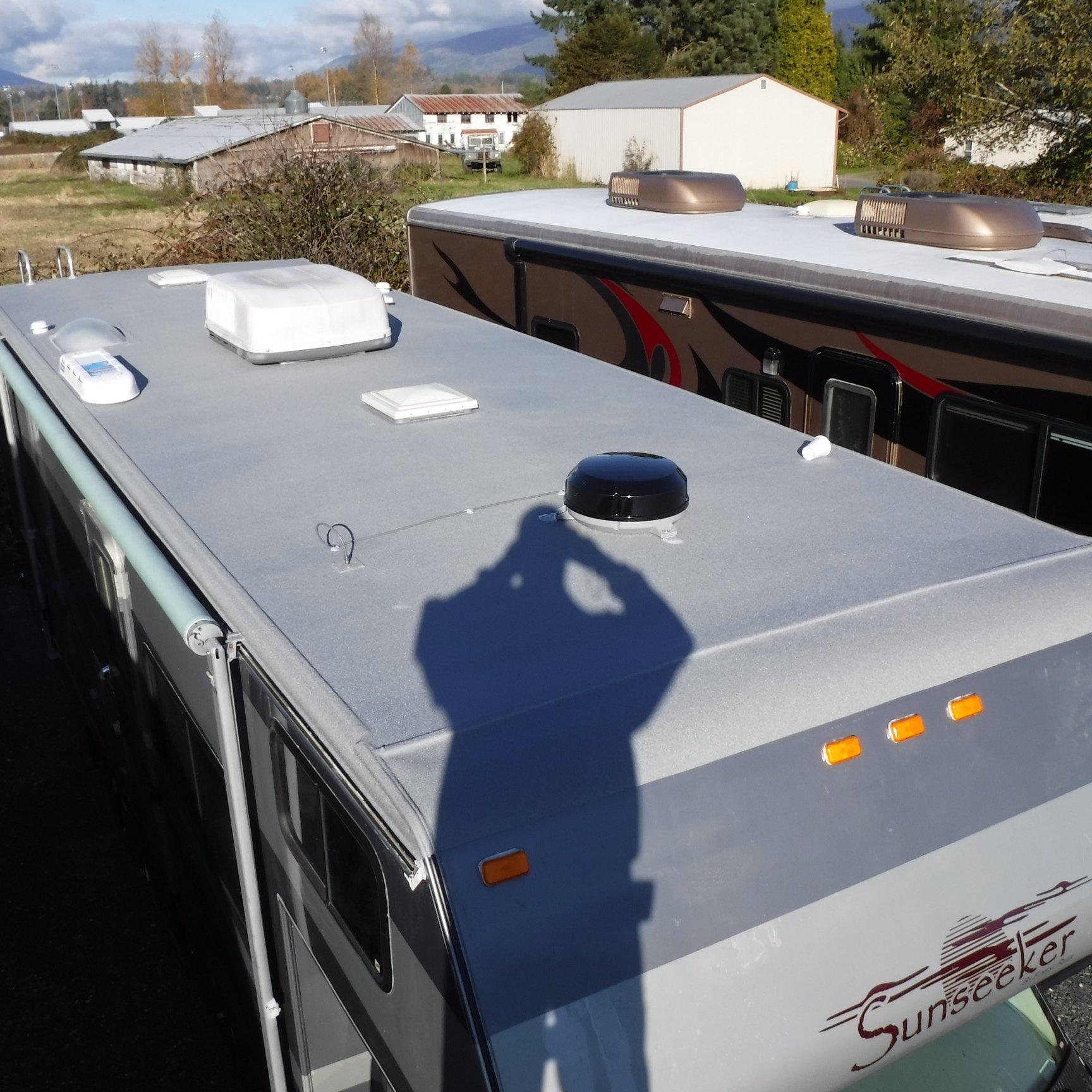 RV Roof Rebuild, Repair, & Eco-Coat Roof