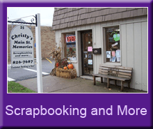 Scrapbooking - New Concord, OH - Christy's Main Street Memories