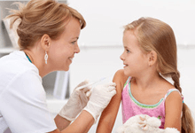doctor with a girl patient