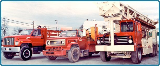 Well drilling truck service