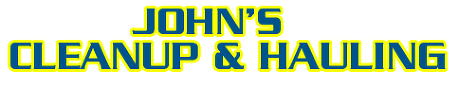 John's Cleanup & Hauling - logo