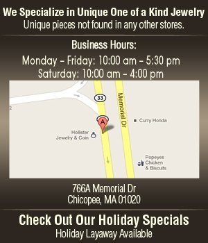 Jewelry Repair - Chicopee, MA - Hollister Jewelry And Coins