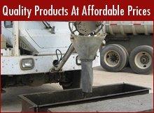 Concrete Products - Dyersburg, TN - Fowlkes Concrete & Construction Co.