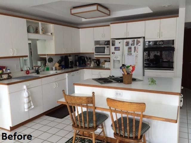 Kitchen Remodeling, before photo