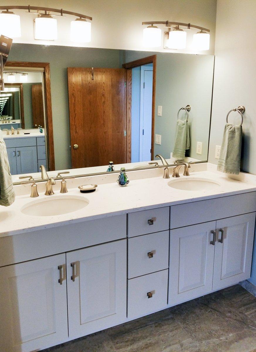 Bathroom Remodeling, white vanity design, double sink vanity cabinet, , large vanity mirror