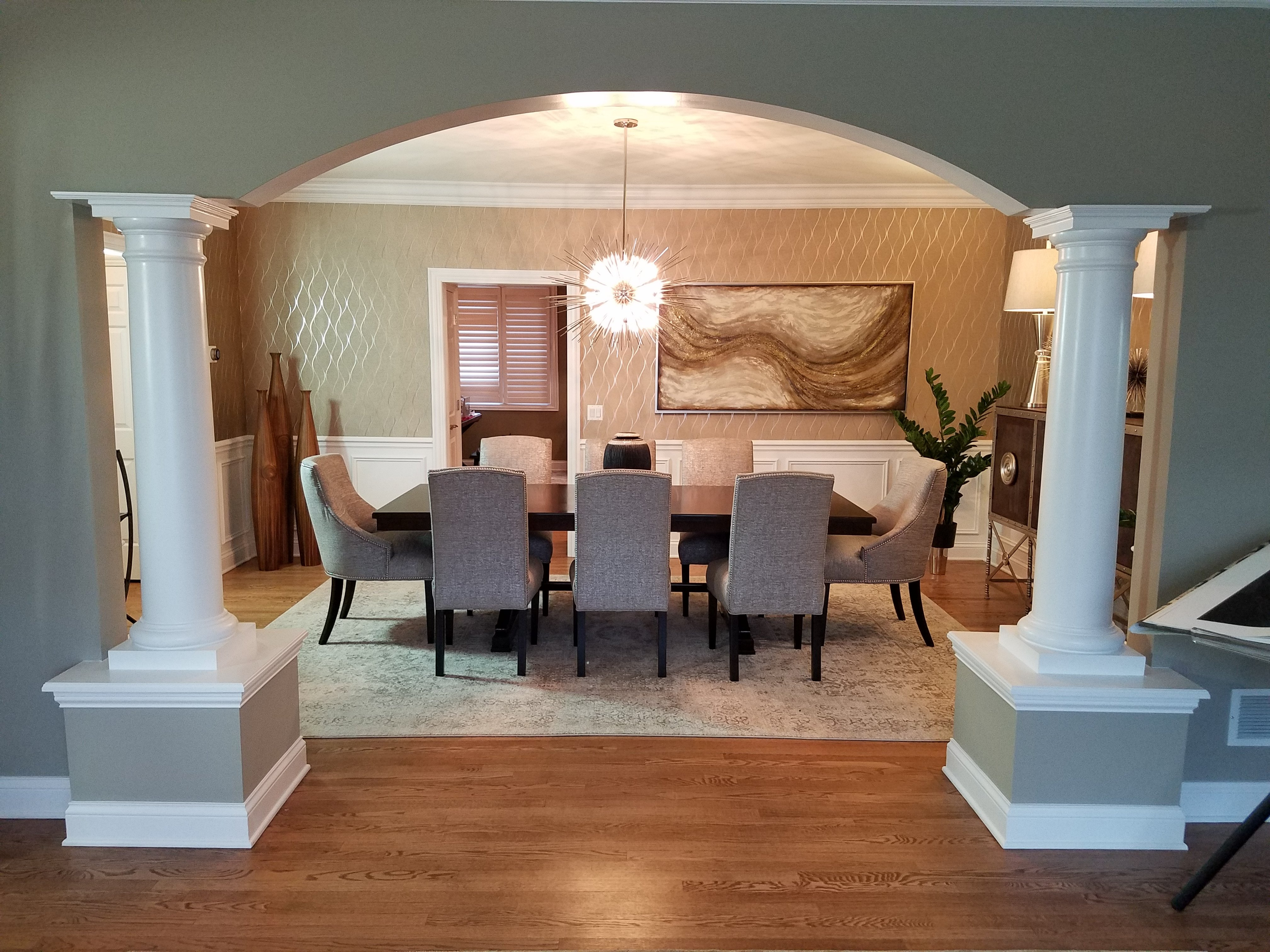 our complete home remodeling project includes