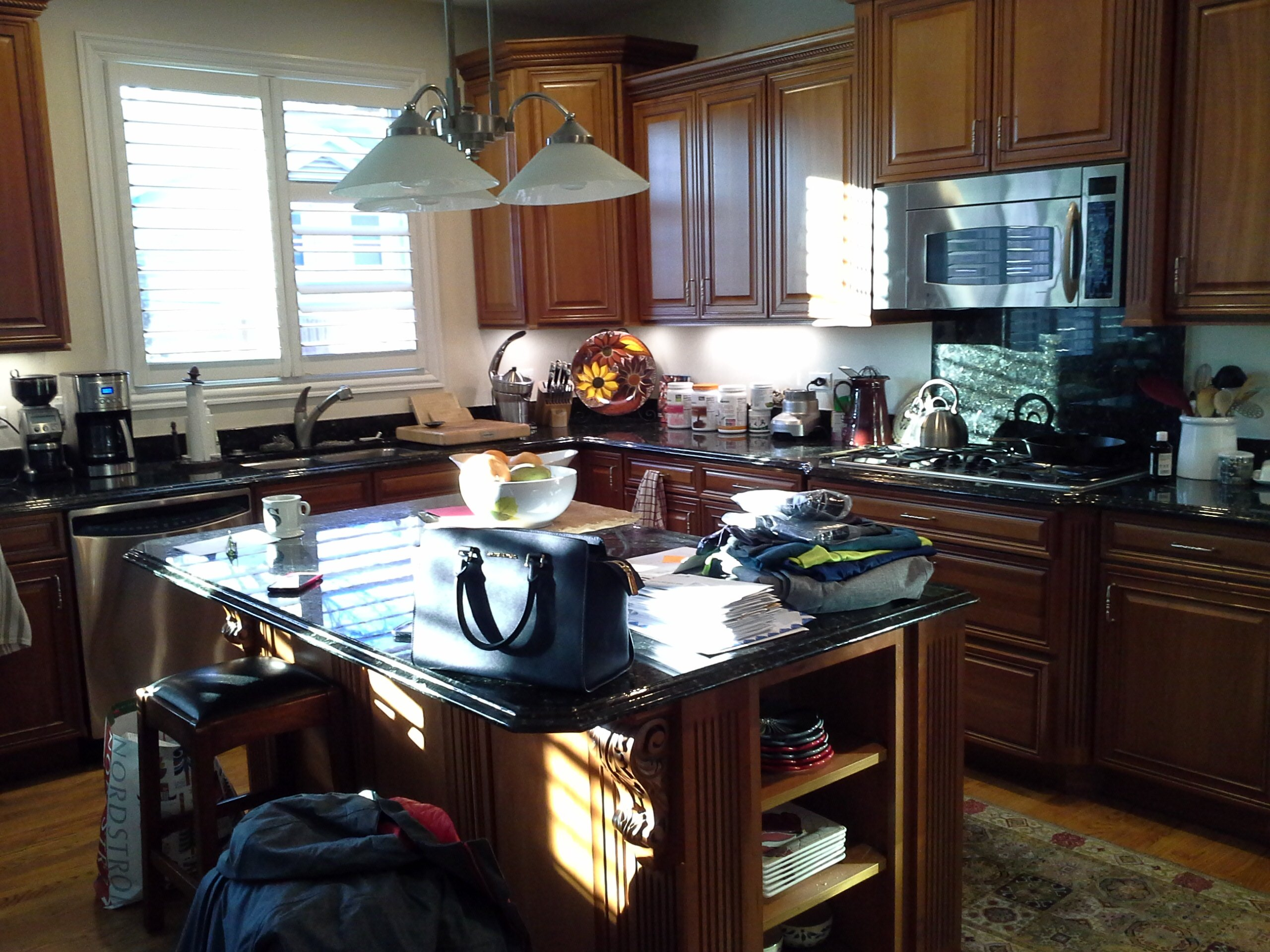 Kitchen Remodeling and Design, before photos