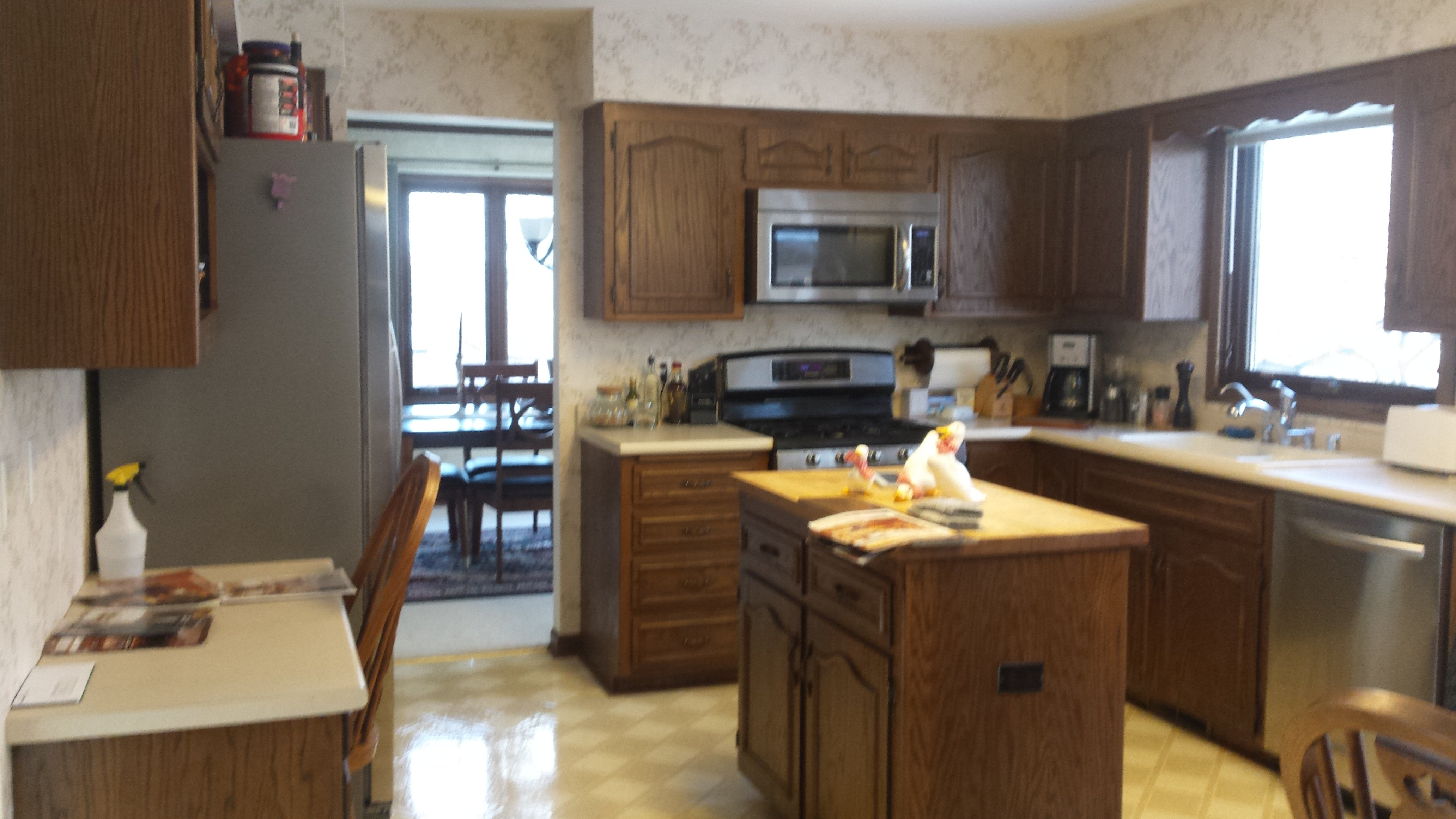 Kitchen Remodeling and Design, before photo