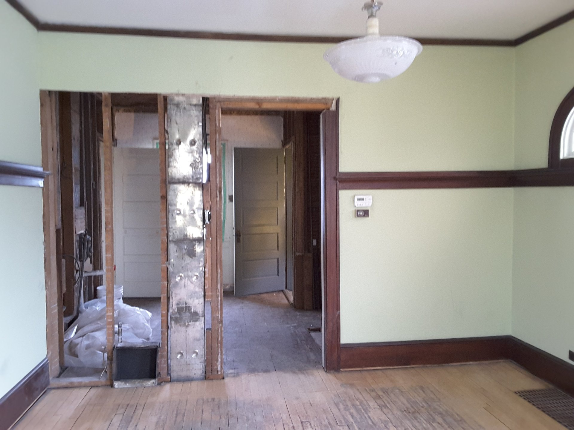 before photo of a kitchen remodel