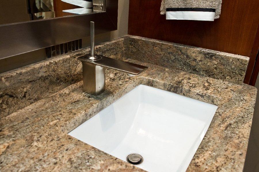 Bathroom Design, rectangular white bathroom sink, brushed nickel bathroom sink faucet