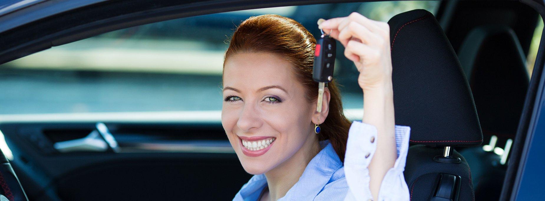 Car Loan with happy customer