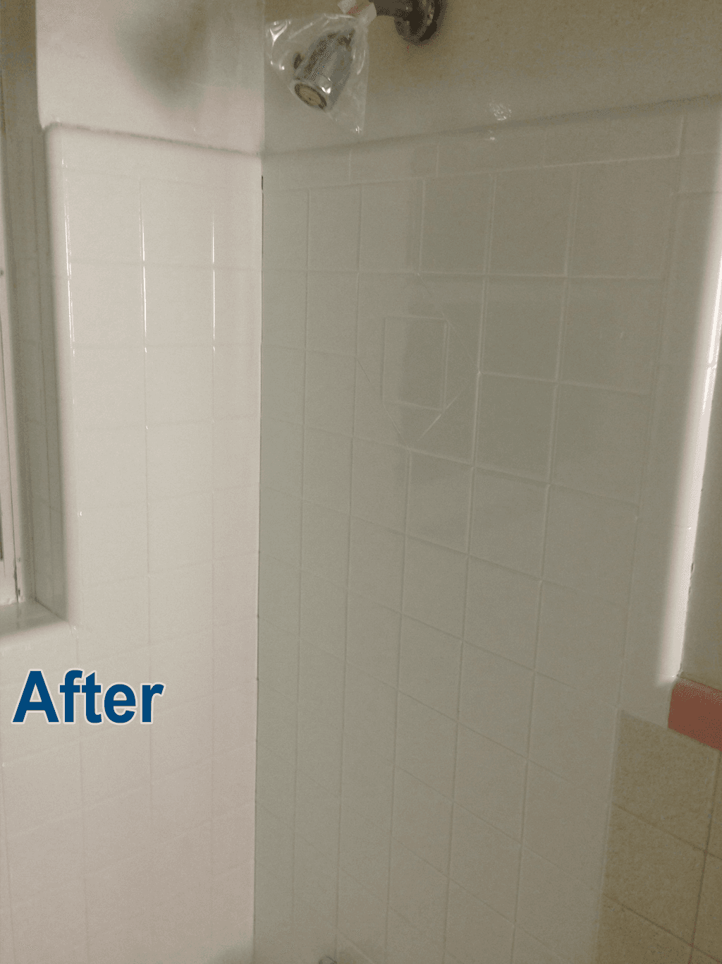 Wall tile and shower