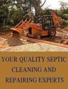 Excavating contractors - Hinton, OK - Jake Septic Service, LLC