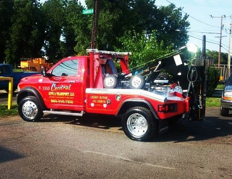Central Groups Tow Truck