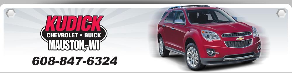 Auto Dealer - Mauston, WI - Kudick Chevrolet Buick