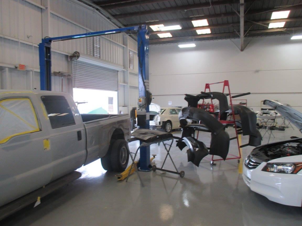 Collision repair service