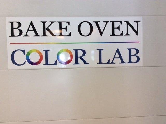 Color lab sign board
