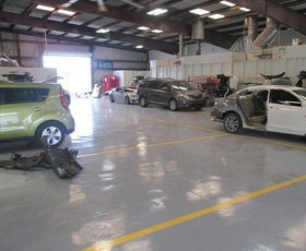 Collision repair service