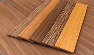 Different kinds of floor