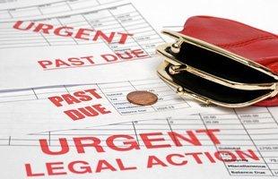 Bankruptcy past due bills