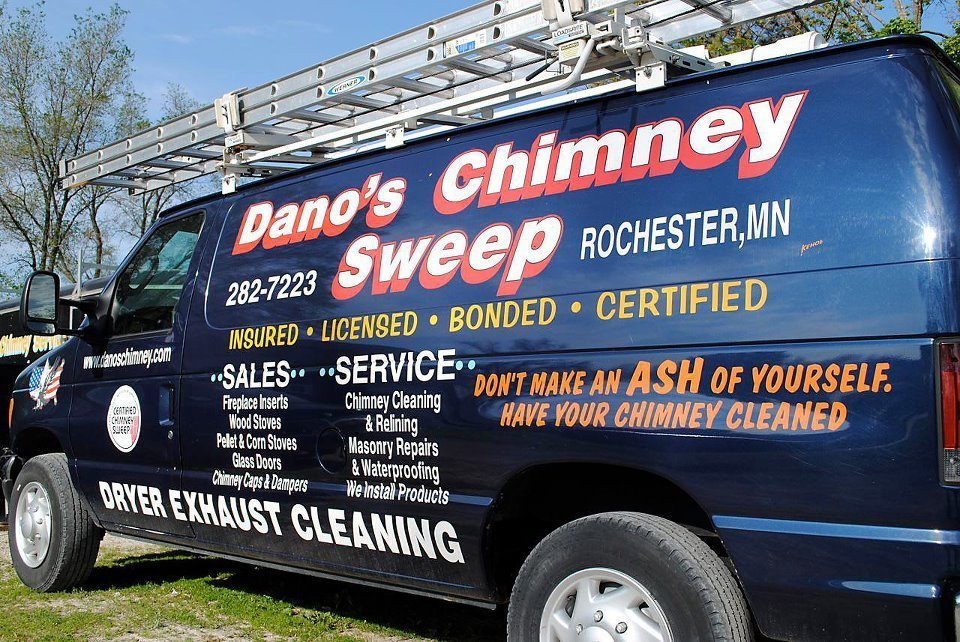 Dano S Chimney Sweep Fireplace Repair Rochester Mn