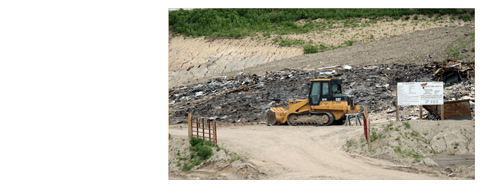 Demolition Landfill | Morristown, MN | Timm Trucking & Excavating Inc | 507-685-2222