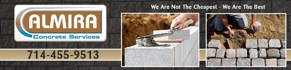 Concrete Contractor - La Habra, CA - Almira Concrete Services