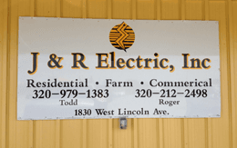 Electrician - Renville, MN - J & R Electric, Inc