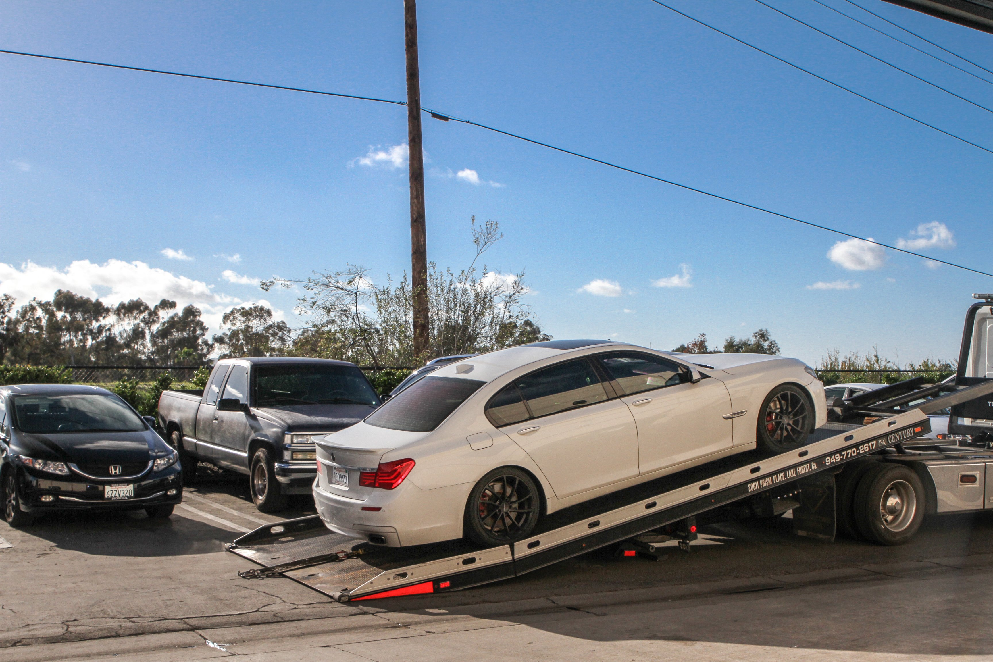 Car towing