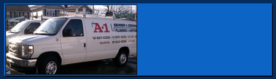 A-1 sewer & drain service trucks