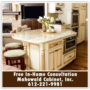 Cabinets - Prior Lake / Savage, MN - Mahowald Cabinet, Inc. - Free In-Home Consultation Mahowald Cabinet, Inc. 612-221-9981