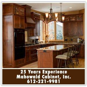 Kitchen Cabinets - Prior Lake / Savage, MN - Mahowald Cabinet, Inc. - 25 Years Experience Mahowald Cabinet, Inc. 612-221-9981