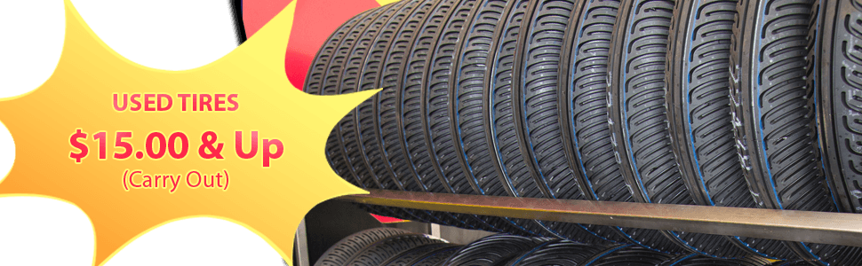 New and Used Tires | Forty Fort, PA | Vito's & Gino's Citgo | 570-288-8995