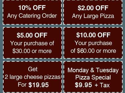 Delizia Pizza Kitchen coupons